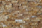 foto of tile cladding  - Natural stone pieces tiles for walls - JPG