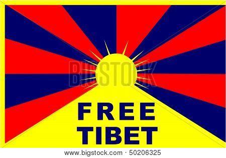 Free Tibet Flag