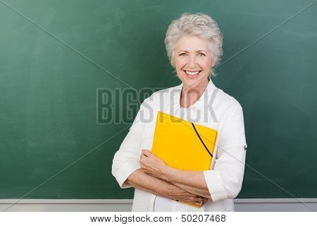 Caucaisna Cheerful Female Senior Teacher