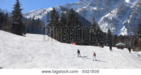 Skiing At Sundance, Utah