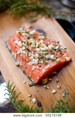 Fresh Cedar Plank Salmon