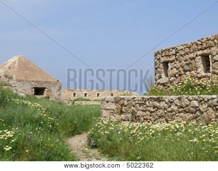 Fort Ruins in Crete