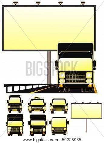 billboard with set transport object