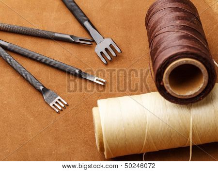 Handmade Leather craft tool