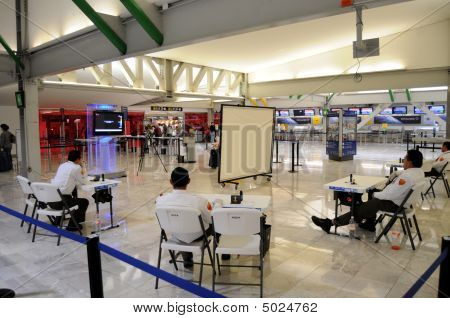 Health Screening At Mexico City Airport