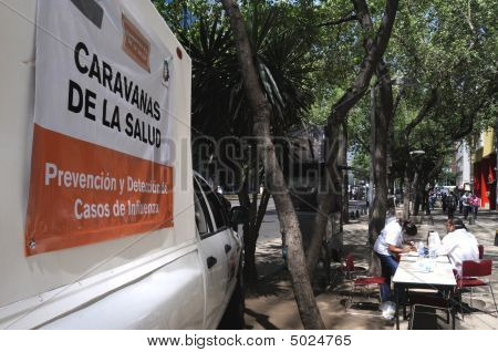Mobile Clinic In Mexico City