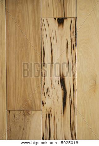 Character Grade Hickory Flooring Macro