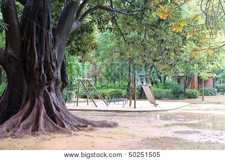 Park In Seville, Spain