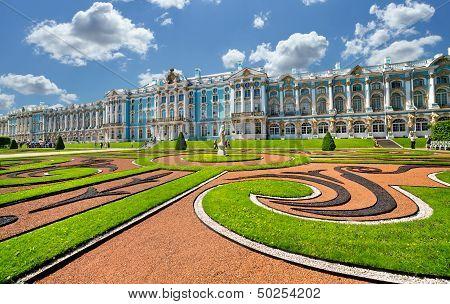 The Tsarskoye Selo Palace And Park Ensemble, Petersburg