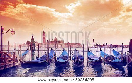 Sunny Morning In Venice