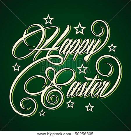 Creative Happy Easter greeting