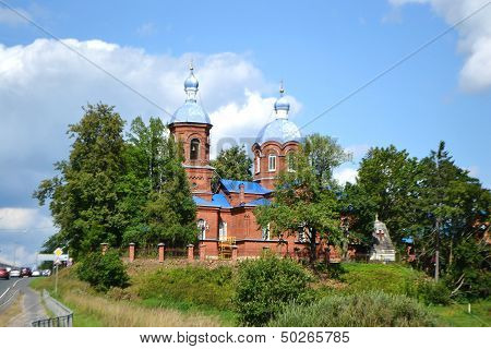 Old Russian Country Church
