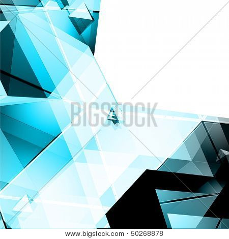 Abstract Tiangular Background