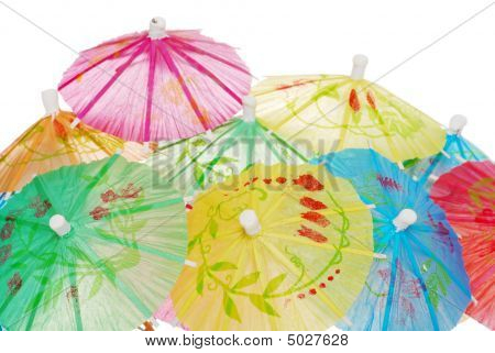 Colorful Asian Umbrellas