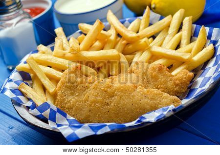 Chicken Fingers And French Fries