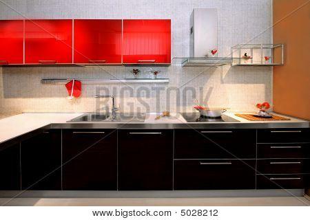 Contemporary Kitchen Counter