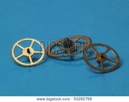 Copper Cogwheels