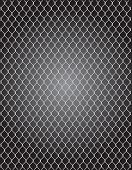 picture of metal grate  - a mesh wire for fencing vector illustration - JPG