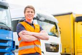 stock photo of trucking  - Logistics  - JPG