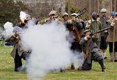 Historic gun battle