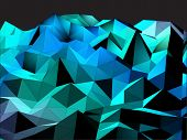 foto of triangular pyramids  - Abstract Triangular Landscape Background - JPG