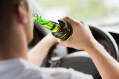 picture of liquor bottle  - transportation and vehicle concept  - JPG