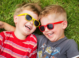 picture of daycare  - Smiling brothers - JPG