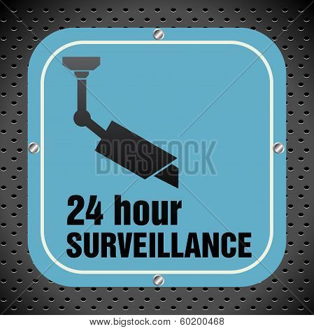 Surveillance plate