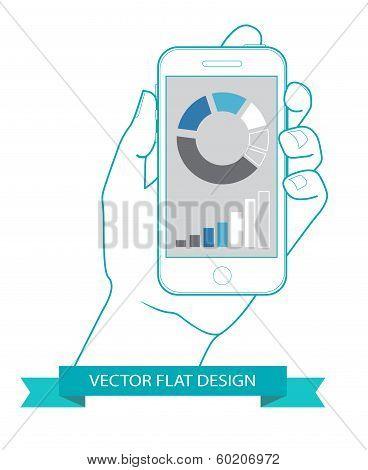 Flat countour design