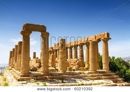 Greek Temple Of Juno