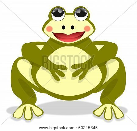 The Beautiful Fat Frog