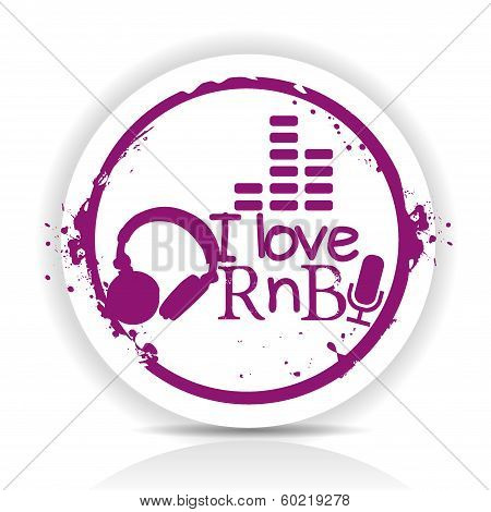 Sticker RnB