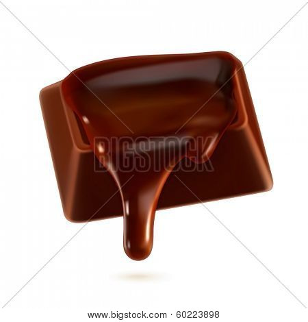 Chocolate, vector illustration