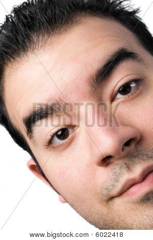 Young Man Close Up