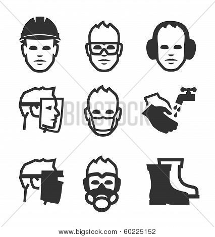Job safety icons