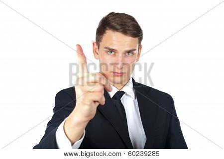 Making Stop Gesture