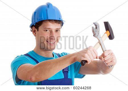 Smiled Handy Man