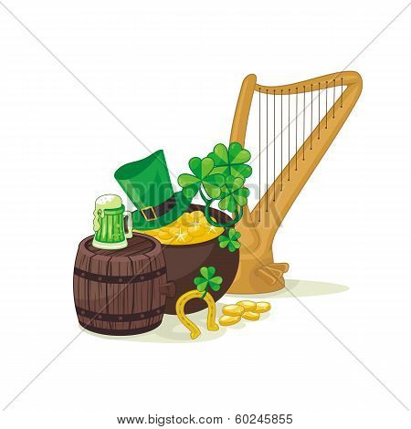 St. Patrick's Day Illustration
