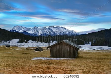 Geroldsee Before Sunrise, Krün, German Alps