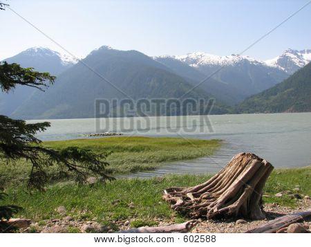 Fjord At Bella Coola