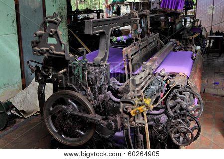 Textile Production  - old machine