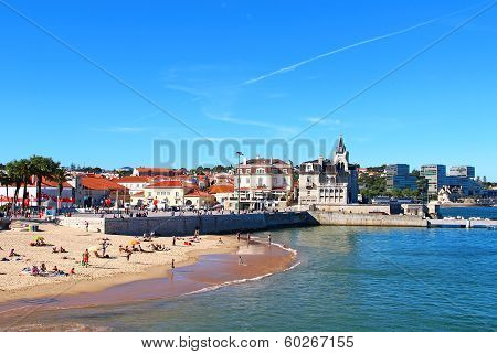 Beach In Cascais, Portugal
