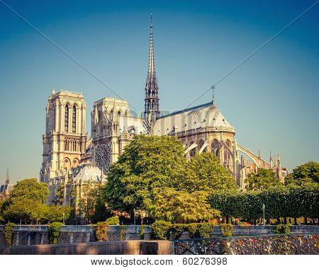View on Notre Dame de Paris, Paris, France