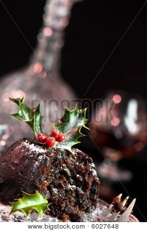Christmas Pudding Angle