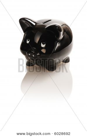 Black Piggy Bank