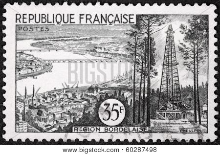 Bordeaux Stamp