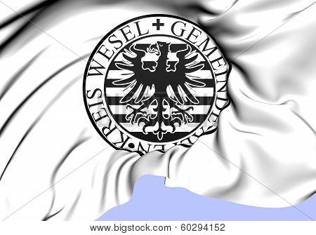 Seal Of Gemeinde Alpen, Germany.