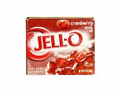 Box Of Jell-o Cranberyy Dessert