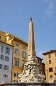 foto of obelisk  - Obelisk for the Pantheon on Piazza Rotonda Rome Italy - JPG
