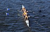 Long Beach Junior Crew races in the Head of Charles Regatta on October 20 2013